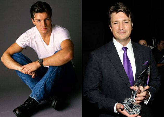 En 1996 y en 2012  Es un ejemplo para los gordos de este mundo Nathan Fillion Weight Loss