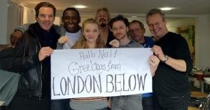 Sherlock, Charles Xavier, Ana Bolena/Magaery Tyrell, Giles... Casi ná.